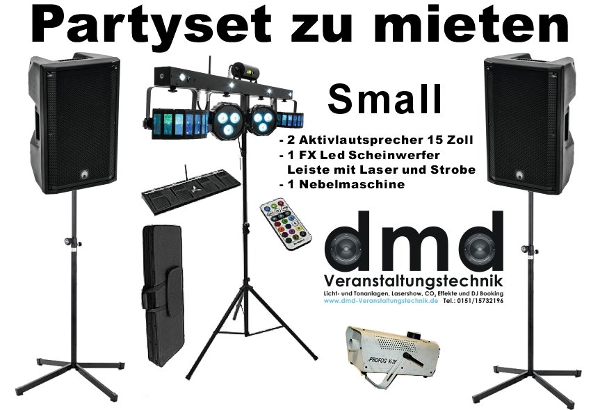 Angebot Partyset small
